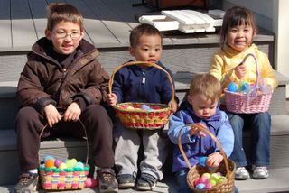 Cousins-egghunt