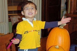 Halloween-Eli, pumpkins